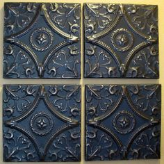Antique Ceiling Tin Tiles Circa 1900