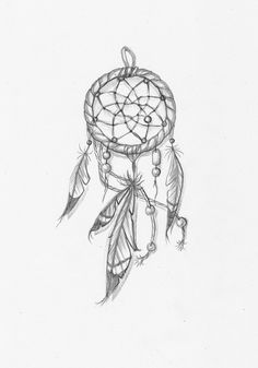 small dream catcher tattoo, I'd like this on my forearm or the side of my thigh if it was bigger