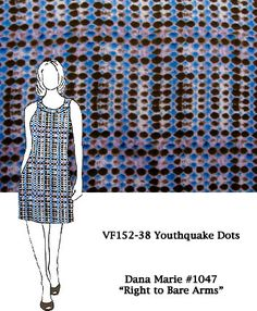 <p> VF152-38 Youthquake Dots - Cotton Jersey Knit Print Fabric.&nbsp…