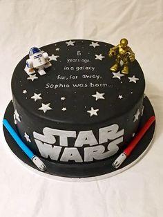 31 Trendy Birthday Ideas For Him From Kids Boys Star Wars - Geburtstagstorten - Rezepte Bolo Star Wars, Star Wars Cake, Star Wars Gifts, Star Wars Birthday Cake, Birthday Cakes, Aniversario Star Wars, Star Wars Cupcakes, Cakes For Boys, Amazing Cakes