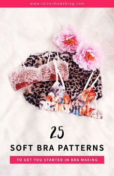 25 Soft Bra Patterns to Get You Started in Bra Making