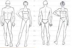Resultado de imagem para como desenhar o corpo humano