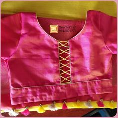 Patch Work Blouse Designs, Kids Blouse Designs, Simple Blouse Designs, Stylish Blouse Design, Blouse Back Neck Designs, Blouse Neck Designs, Pattu Saree Blouse Designs, Blouse Designs Silk, Designer Blouse Patterns