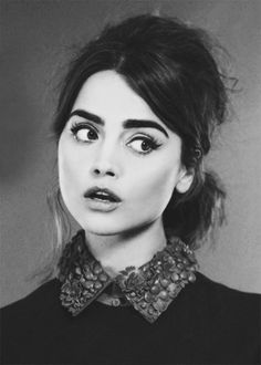 Jenna Coleman for InStyle UK (December 2014).