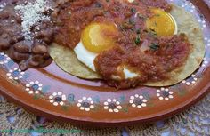Doing Justice to Huevos Rancheros with fresh Roasted Tomato Salsa