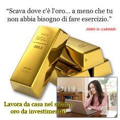 Scava dove puoi trovare l'oro!