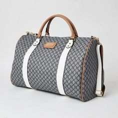 Shop our new Dark grey RI monogram large duffel bag at River Island today. Faux Leather Fabric, Duffel Bag, You Bag, Dark Grey, Latest Fashion, Purses And Bags, Monogram, River Island, Range