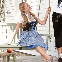 "Dirndl-Set ""Theresa"", 3-tlg."