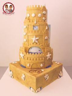 SandCastle Wedding  - Cake by Un Jeu d'Enfant - Cake Design