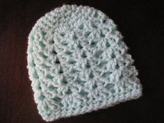 Shell Stitch Beanie ONLY  FT022 by FischTales on Etsy