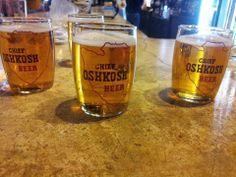 Chief Oshkosh Beer in Vintage glasses! Family History, Wisconsin, Beer, Memories, Mugs, Glasses, Tableware, Vintage, Root Beer