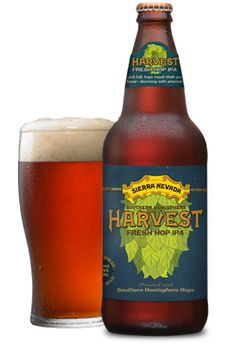 Harvest Fresh Hop IPA - Southern Hemisphere Harvest® | www.sierranevada.com  Totally loving this beer. One of the best I've had in a while.
