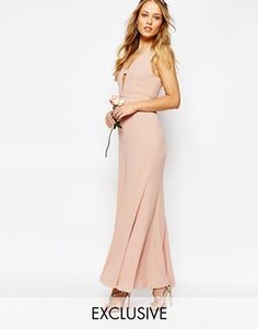 51d9c6e2bb3d Fame and Partners Everland Maxi Dress with Fishtail Bridesmaid Outfit
