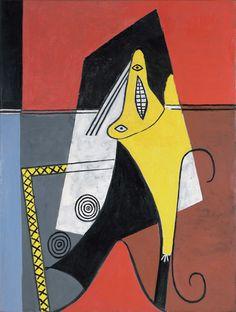 Pablo Picasso - Femme dans un fauteuil, (1927)