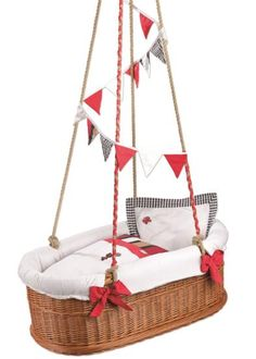 Suspended baby cradles are modern baby room furniture designs inspired by traditional cradles. These suspended cradle swings are a great way to coddle your baby gently. Lushome shares creative and modern suspended cradles for babies which can be moved outdoors to rock a baby to sleep on the fresh ai