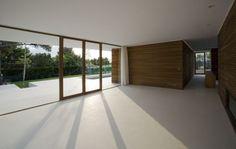 Lichte betonnen vloer