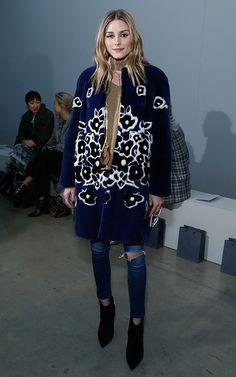 Los abrigos de Olivia Palermo
