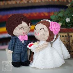 Addison & Gina wedding dolls