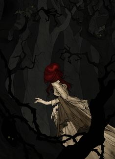 The Happy Sorceress Character Inspiration, Character Art, Abigail Larson, Gothic Artwork, Goth Art, Horror Art, Dark Art, Painting & Drawing, Fantasy Art