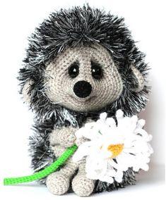 Mesmerizing Crochet an Amigurumi Rabbit Ideas. Lovely Crochet an Amigurumi Rabbit Ideas. Crochet Hedgehog, Hedgehog Craft, Cute Hedgehog, Crochet Toys Patterns, Amigurumi Patterns, Stuffed Toys Patterns, Knitting Patterns, Cute Crochet, Crochet Crafts