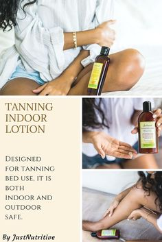 A remarkable moisturizer formulated to extend the life of your tan while nourishing your skin for a more vibrant, healthy glow. Designed for tanning bed use, it is both indoor and outdoor safe.