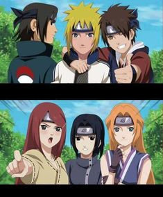 Parents of team 7 (I really like this, especially since you never really see Sakura's family)                                                                                                                                                      Mehr