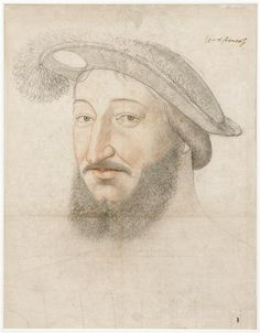 Francis I, King of France (1515-1547), Jean Clouet. 1540