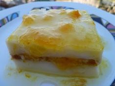 mari plateau: Πορτοκαλόπιτα μαλεμπί Sweets Recipes, Desserts, Greek Beauty, Marie, Pudding, Food And Drink, Baking, Greek Recipes, Food Cakes