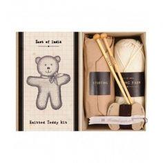 KNITTING KIT FOR TEDDY BEAR