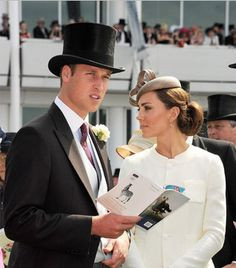 LOOK at them! Prince William and the Duchess of Cambridge
