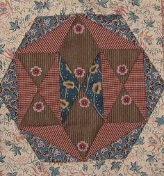 Madison (Wisconsin) Quilt Block Barbara Brackman Civil War Quilt