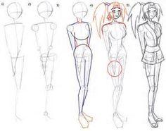 Anime Manga female bodies - Bing Images