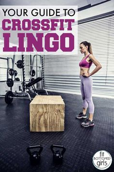Don't be tripped up or intimidated by CrossFit lingo. We've got your guide to decode it!