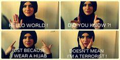 #islam #hijab #muslim #terrorism #terrorist