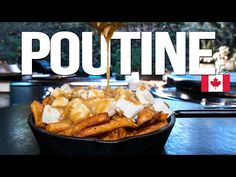 CLASSIC CANADIAN POUTINE - THE BEST I'VE EVER MADE!   SAM THE COOKING GUY 4K - YouTube Appetizer Recipes, Dinner Recipes, Appetizers, Canadian Poutine, Poutine Recipe, Crispy French Fries, Youtube Cooking, Man Food, Looks Yummy