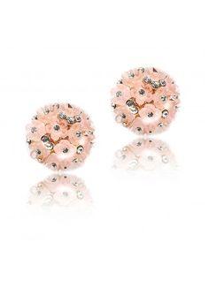 Pink Earrings ✓ Pink Flower Earring ✓ Pink Earring ✓ Pink Resin Flower Bouquet ✓