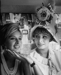 Sophia Loren and her sister, Maria Scicolone