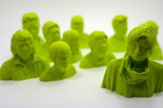 3d printed family by XYZworkshop.com