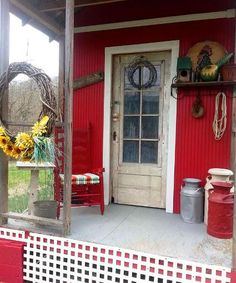 Front porches and back doors, Flea Market style | Flea Market Gardening