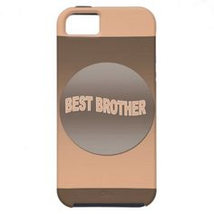 Two Tone Best Brother iPhone 5 Cases Iphone 5 Cases, Brother, Gifts, Favors, Presents, Gift