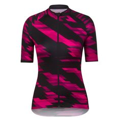 Raphas Women's Core cycling jersey. I love the hot pink.