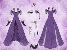 outfit designs anime | Anime Dress Designs Commission shuzi dress design