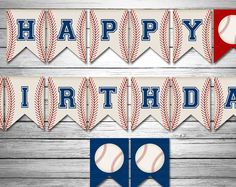 DESCARGAR Banner de feliz cumpleaños del béisbol, instante, béisbol bandera, bandera de bandera, feliz cumpleaños deportes, béisbol bandera, todos estrellas cumpleaños