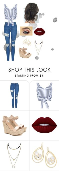 """""""Untitled #211"""" by rebeccaball37 on Polyvore featuring Topshop, WithChic, Lime Crime and Ippolita"""