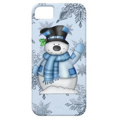 Snowman iPhone 5 barely there iPhone 5 Case #iphone #iphonecase
