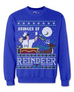 Ugly Christmas Sweatshirts- Josh Donaldson 'Bringer of Reindeer'