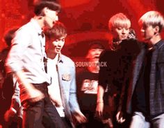 Gif: Lay being violated by Kai, at least that's my interpretation and the look that Lay gives to kai... priceless !