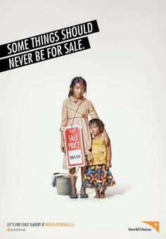 Exploited Labour Ads - This World Vision Child Slavery Campaign is a Call to End Corruption (GALLERY)