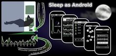 "Sleep As Android: ""Track your sleep and wake up gently with nature sounds in optimal sleep phase.   Alarm clock with sleep cycle tracker. Wakes you gently in light sleep for pleasant mornings. Features: sleep graph history, sleep debt stats, sharing (FaceBook, email), nature alarms (birds, sea, storm...) with gradual volume up, music volume down when asleep, captcha, sleep talk/snoring recording."""