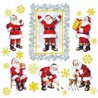 2027 Servilleta decorada Navidad